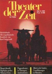 Theater der Zeit 05/1991
