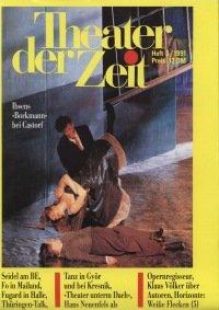 Theater der Zeit 03/1991