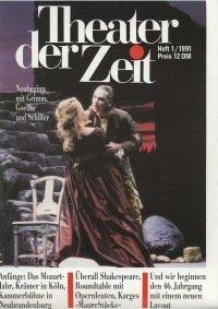 Theater der Zeit 01/1991