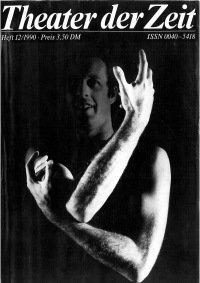 Theater der Zeit 12/1990