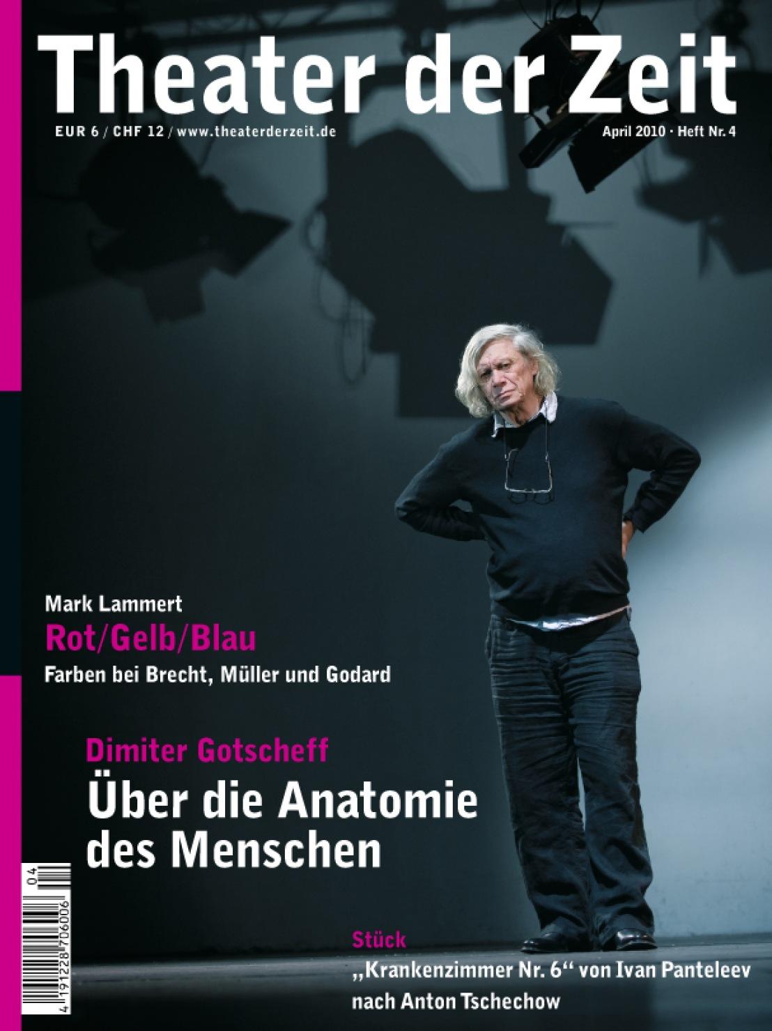 Theater der Zeit 04/2010