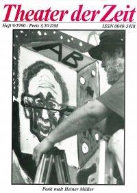 Theater der Zeit 09/1990