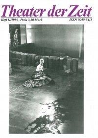 Theater der Zeit 11/1989