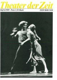 Theater der Zeit 06/1989
