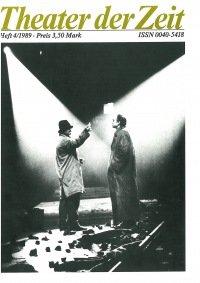 Theater der Zeit 04/1989