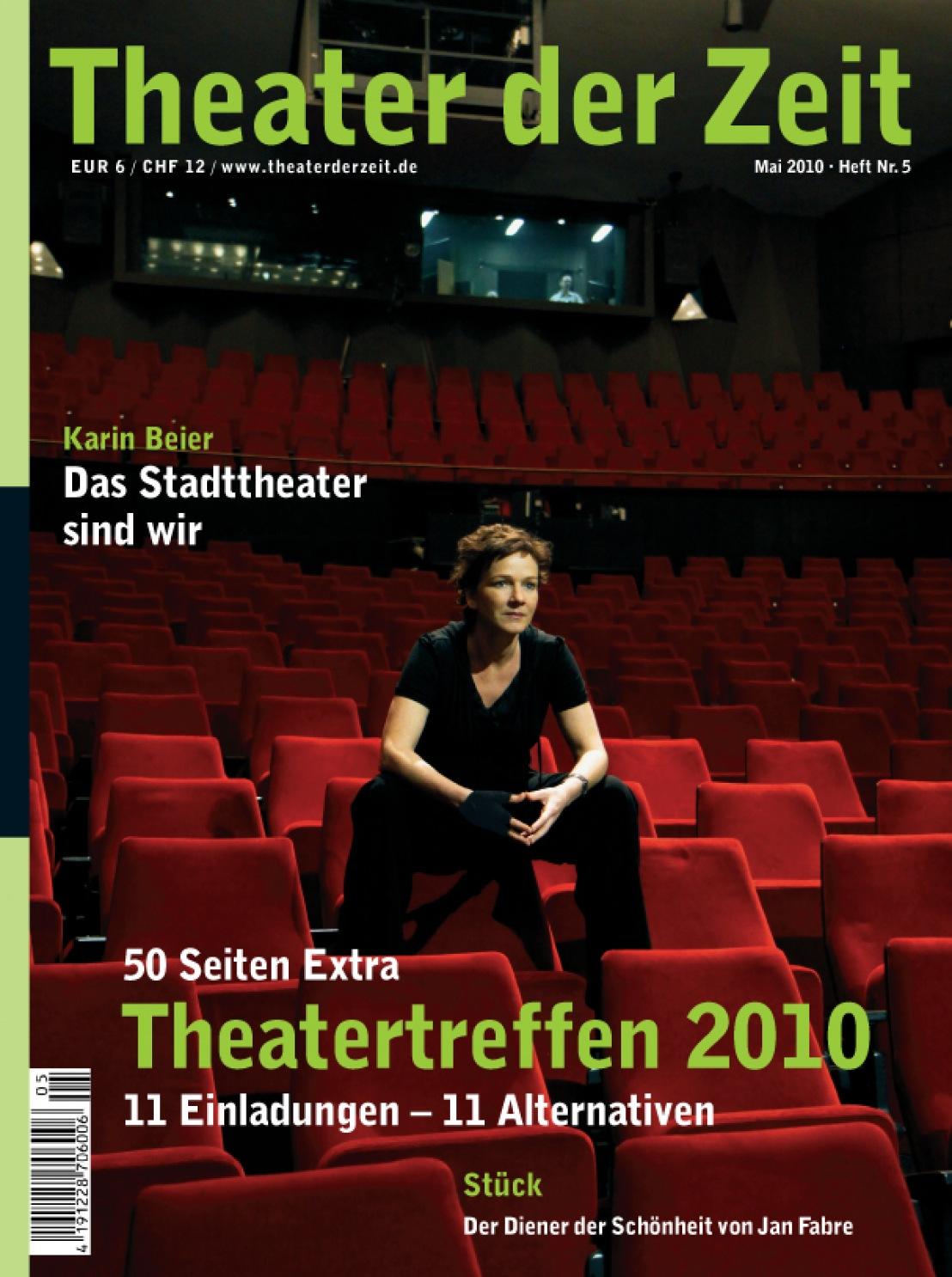 Theater der Zeit 05/2010