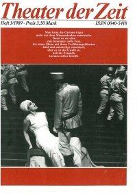 Theater der Zeit 03/1989