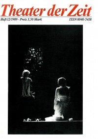 Theater der Zeit 12/1989