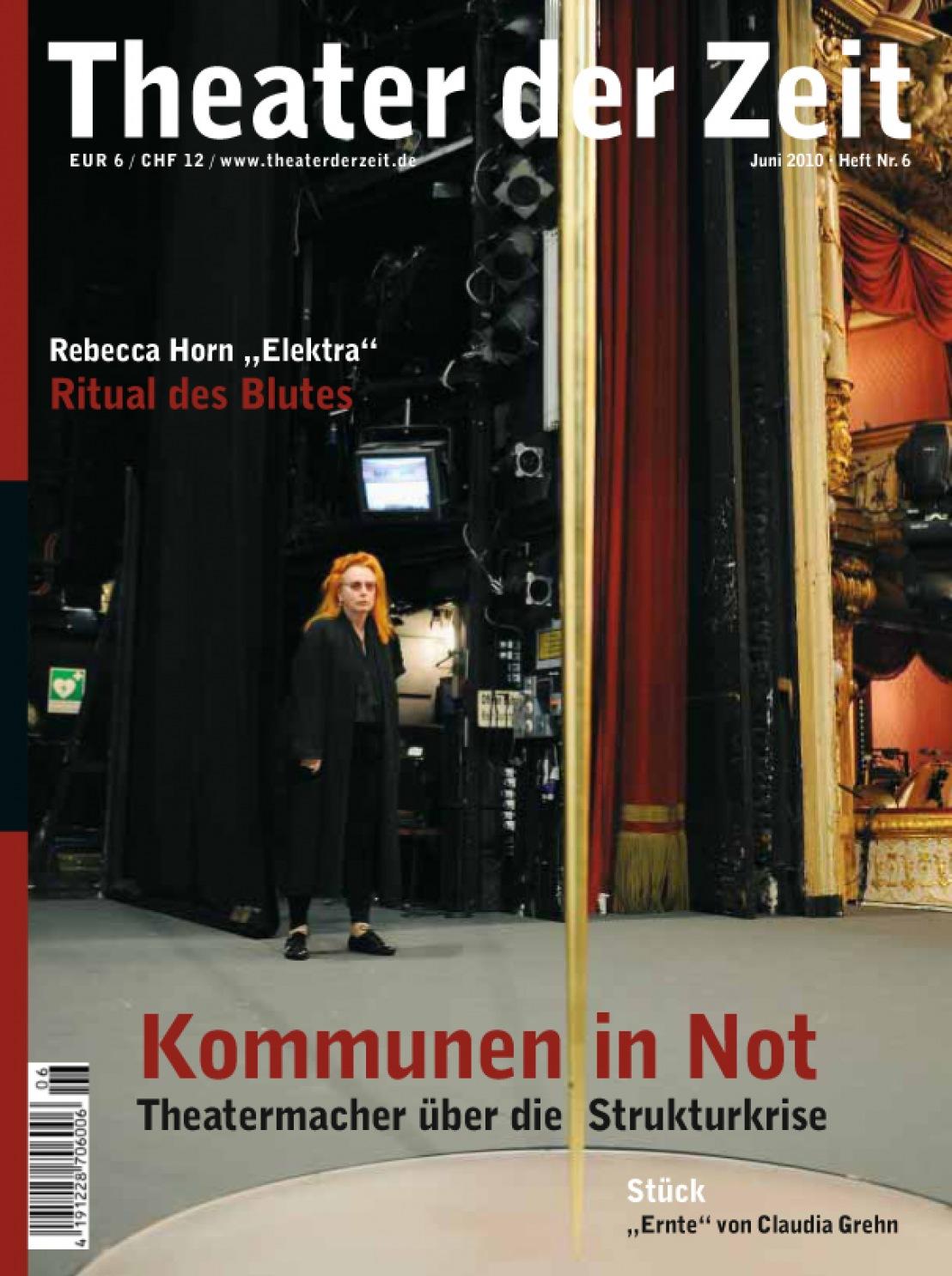 Theater der Zeit 06/2010