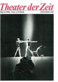 Theater der Zeit 11/1988
