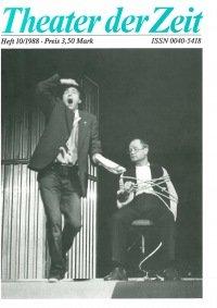 Theater der Zeit 10/1988