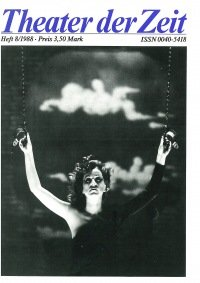 Theater der Zeit 08/1988