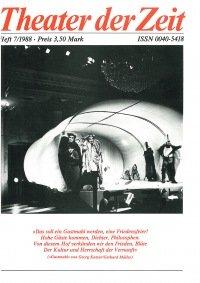 Theater der Zeit 07/1988
