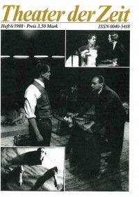 Theater der Zeit 06/1988