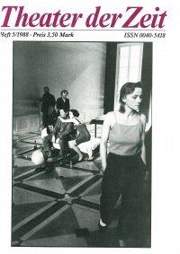 Theater der Zeit 05/1988