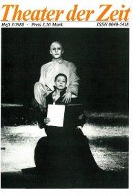 Theater der Zeit 03/1988