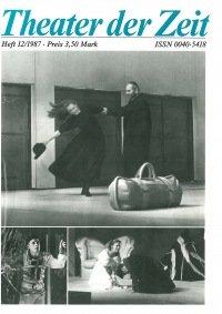 Theater der Zeit 12/1987