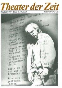 Theater der Zeit 11/1987