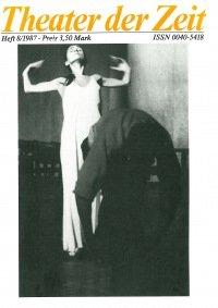 Theater der Zeit 08/1987