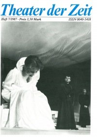 Theater der Zeit 07/1987