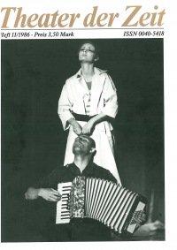 Theater der Zeit 11/1986