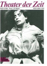 Theater der Zeit 06/1986