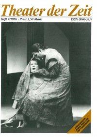 Theater der Zeit 04/1986