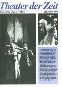 Theater der Zeit 03/1986
