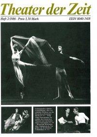 Theater der Zeit 02/1986