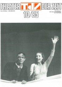 Theater der Zeit 10/1985