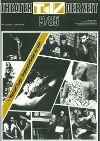 Theater der Zeit 09/1985