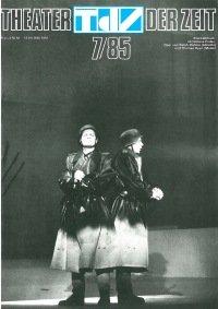 Theater der Zeit 07/1985