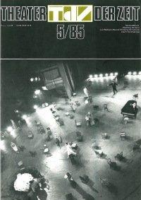 Theater der Zeit 05/1985