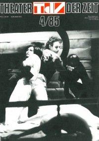 Theater der Zeit 04/1985
