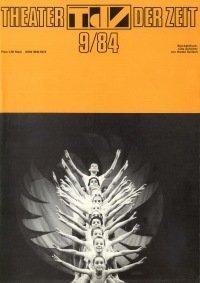 Theater der Zeit 09/1984
