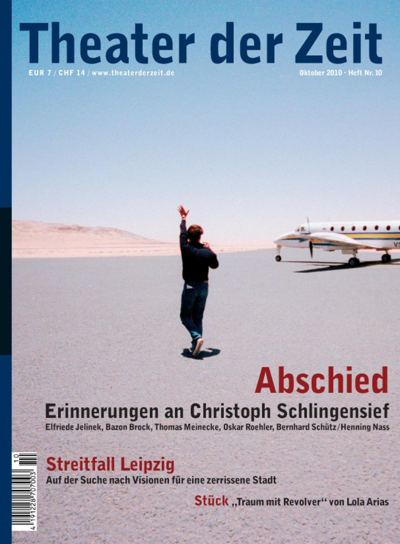 Theater der Zeit 10/2010