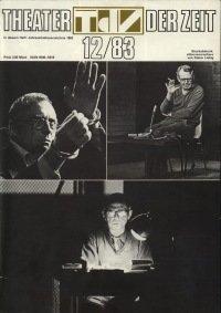 Theater der Zeit 12/1983