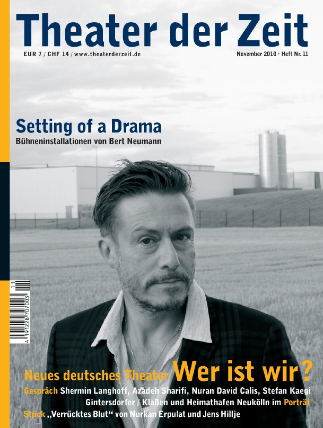 Theater der Zeit 11/2010