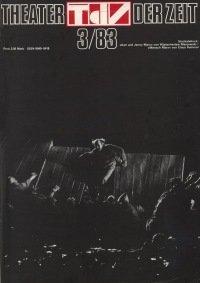 Theater der Zeit 03/1983