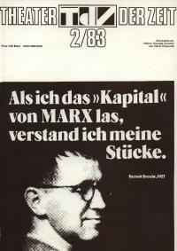 Theater der Zeit 02/1983