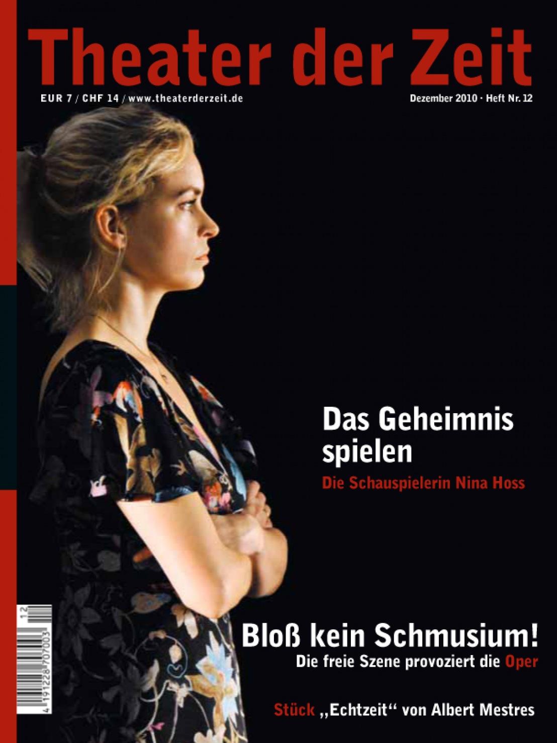 Theater der Zeit 12/2010