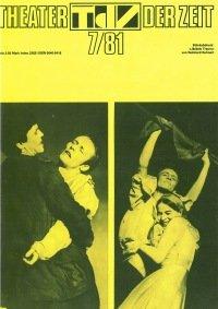 Theater der Zeit 07/1981