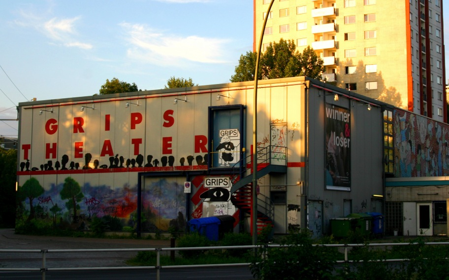Grips-Theater in Berlin at Hansaplatz