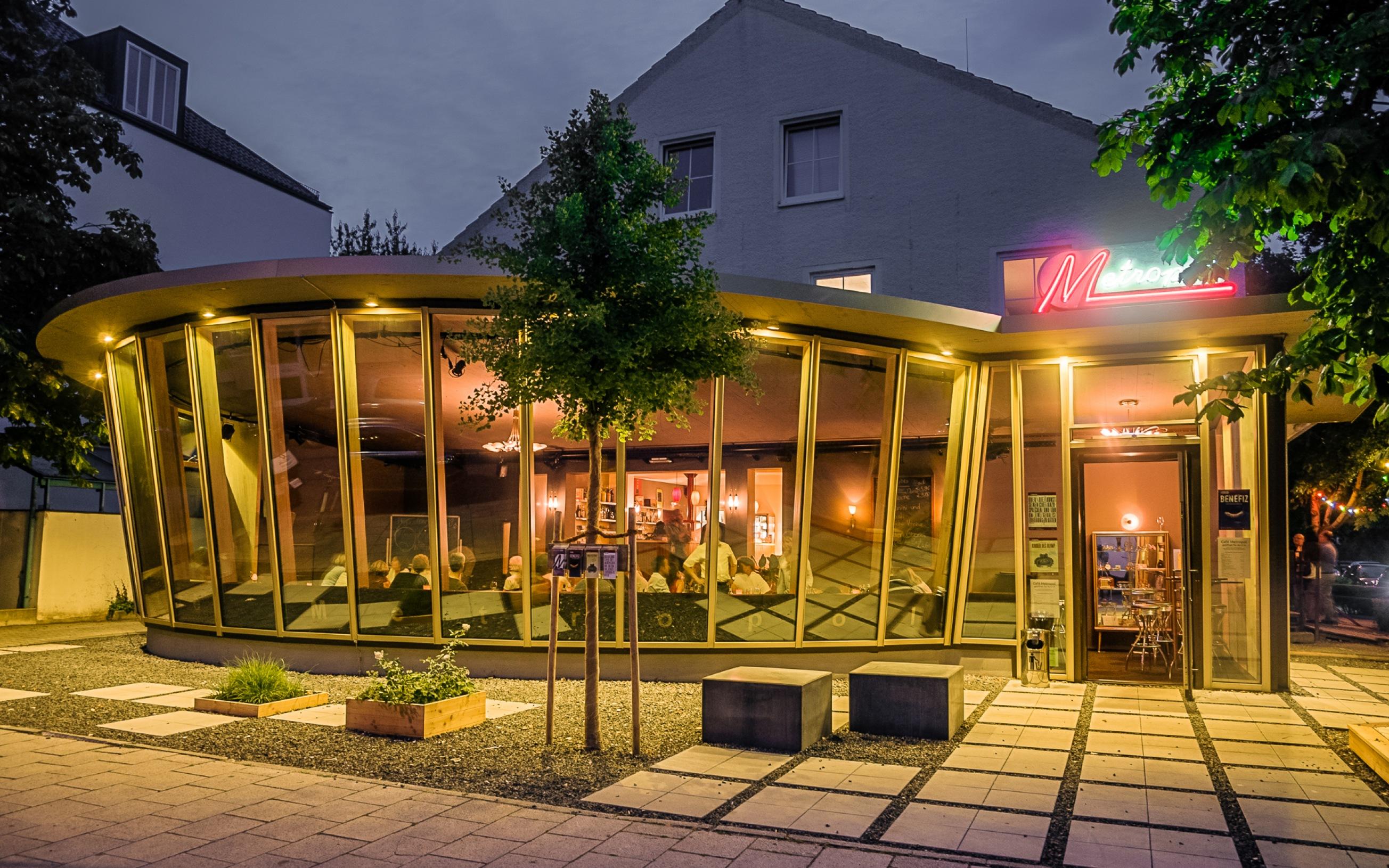 Metropoltheater München Freimann, Foyeranbau von Architekten Lederer-Piloty
