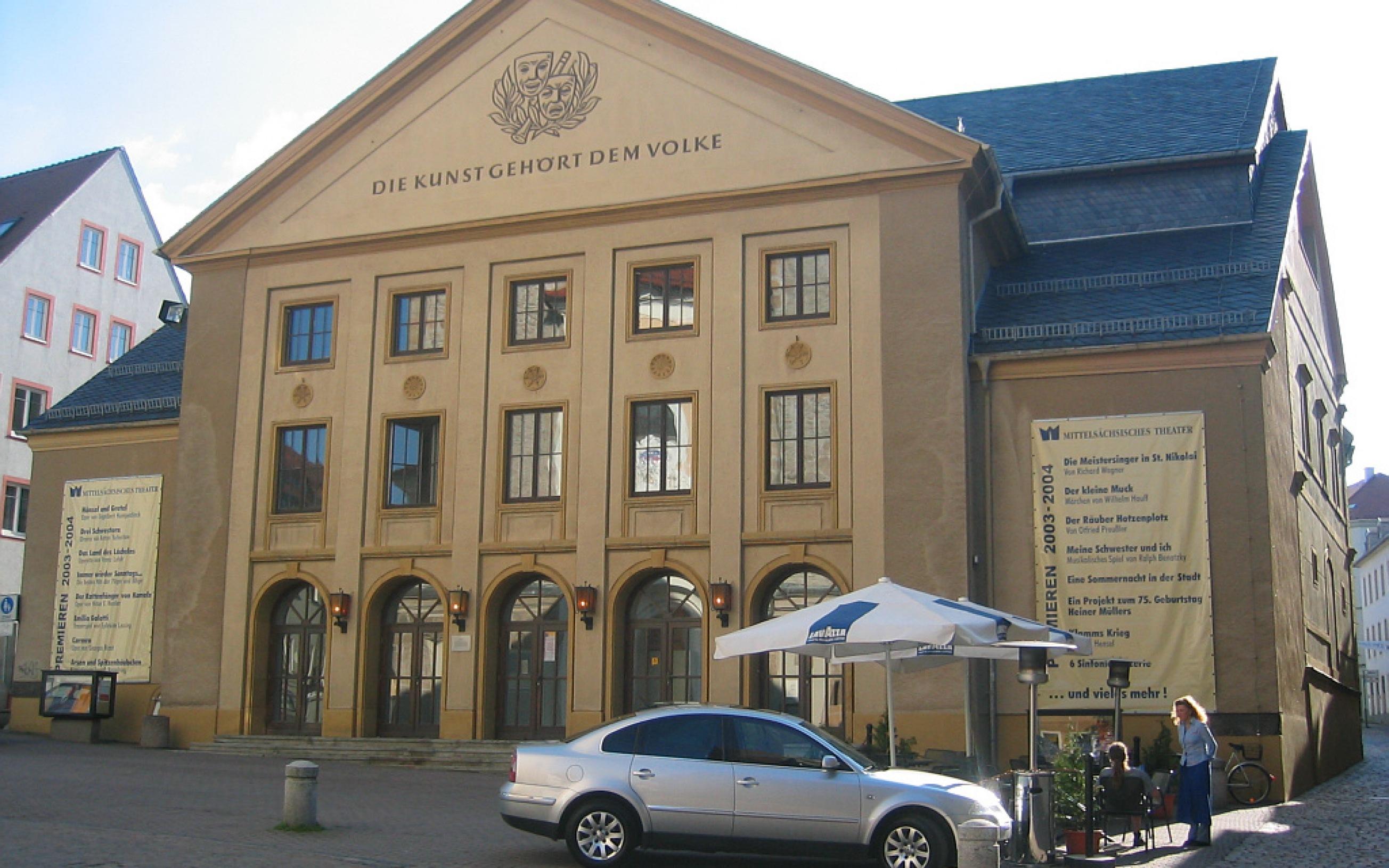Freiberg, Saxony, Germany: Stadttheater
