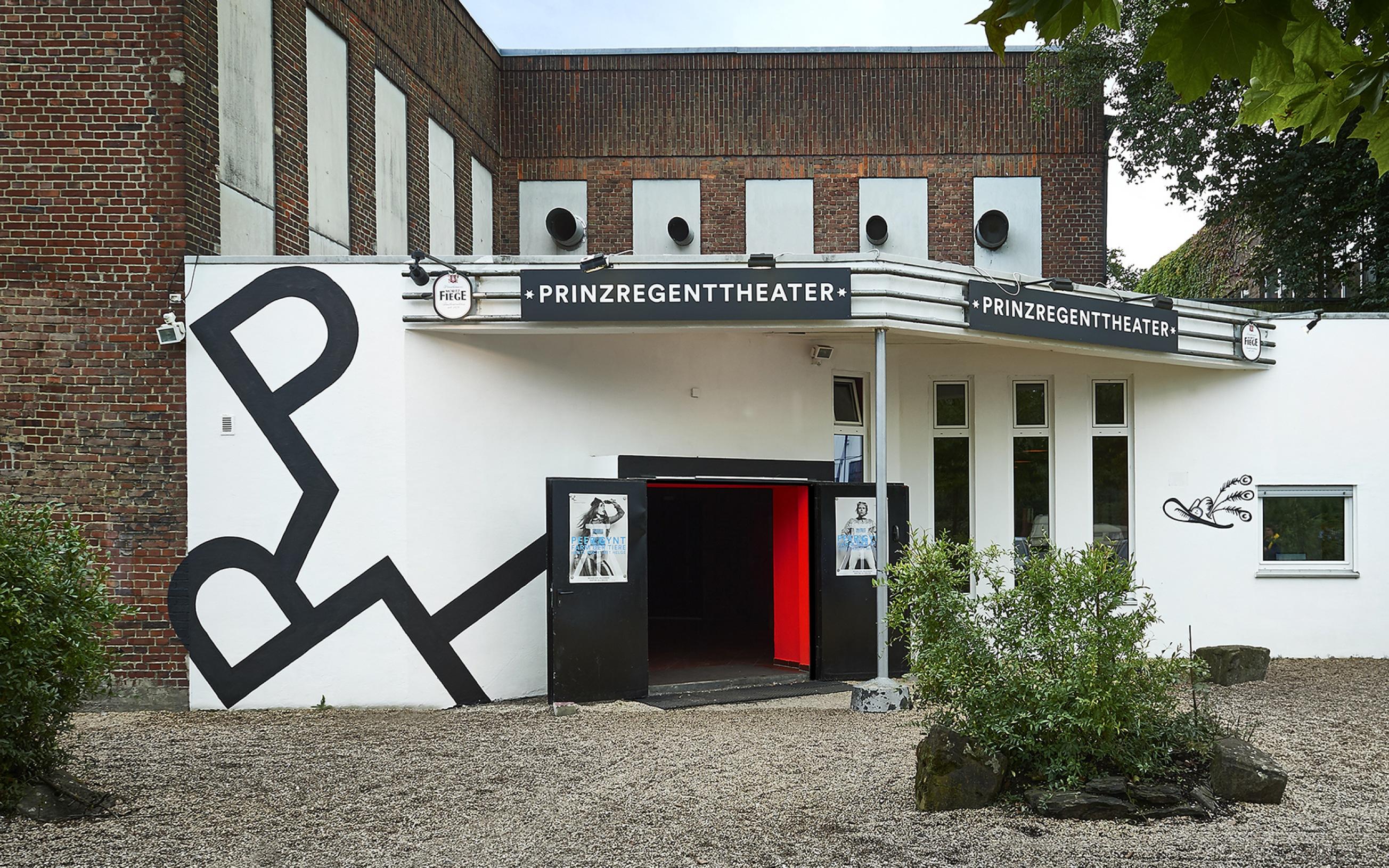PRINZREGENTTHEATER, Prinz-Regent-Str. 50-60, 44795 Bochum - Außenansicht