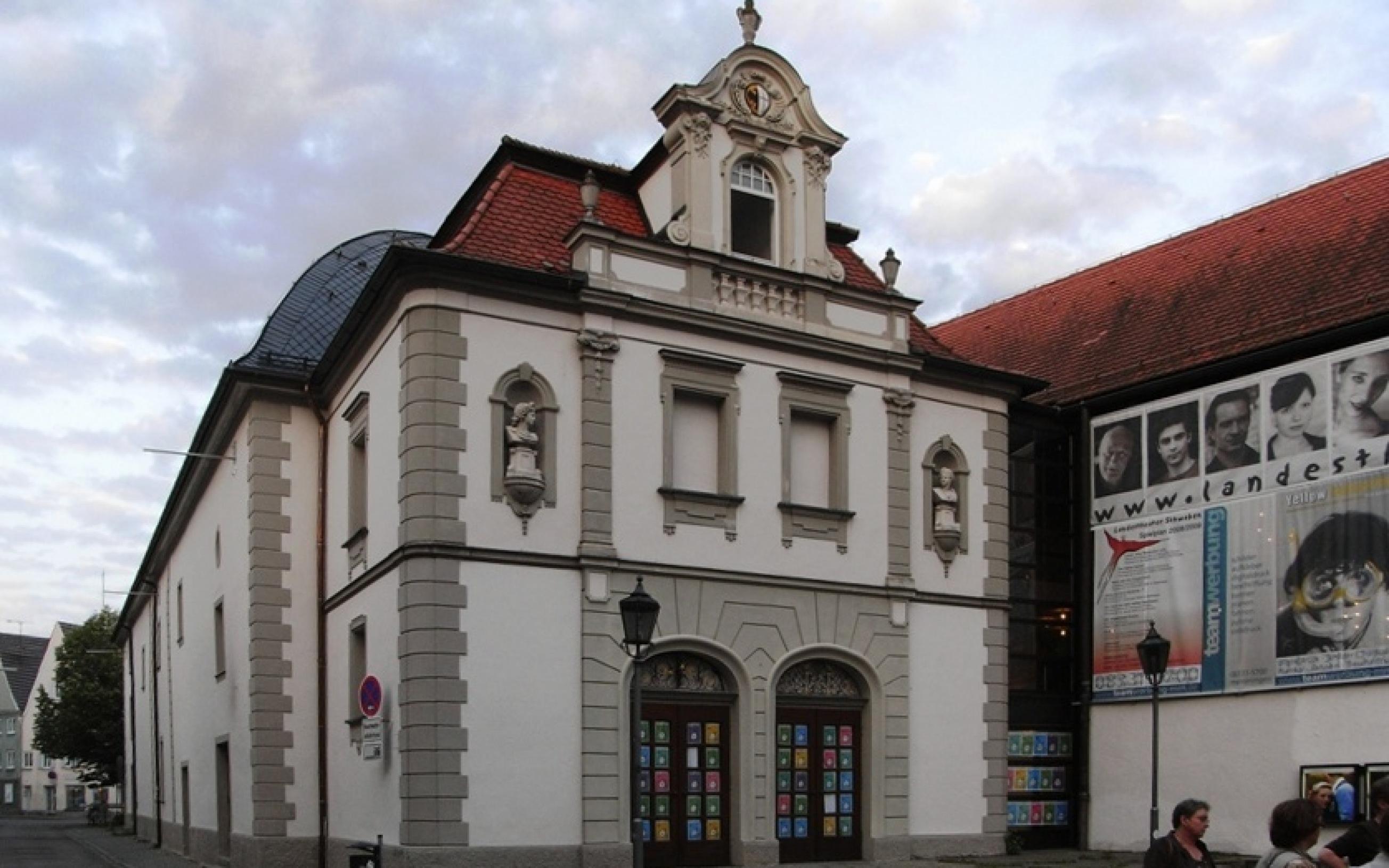 Stadttheater in Memmingen, Hauptsitz des Landestheaters Schwaben