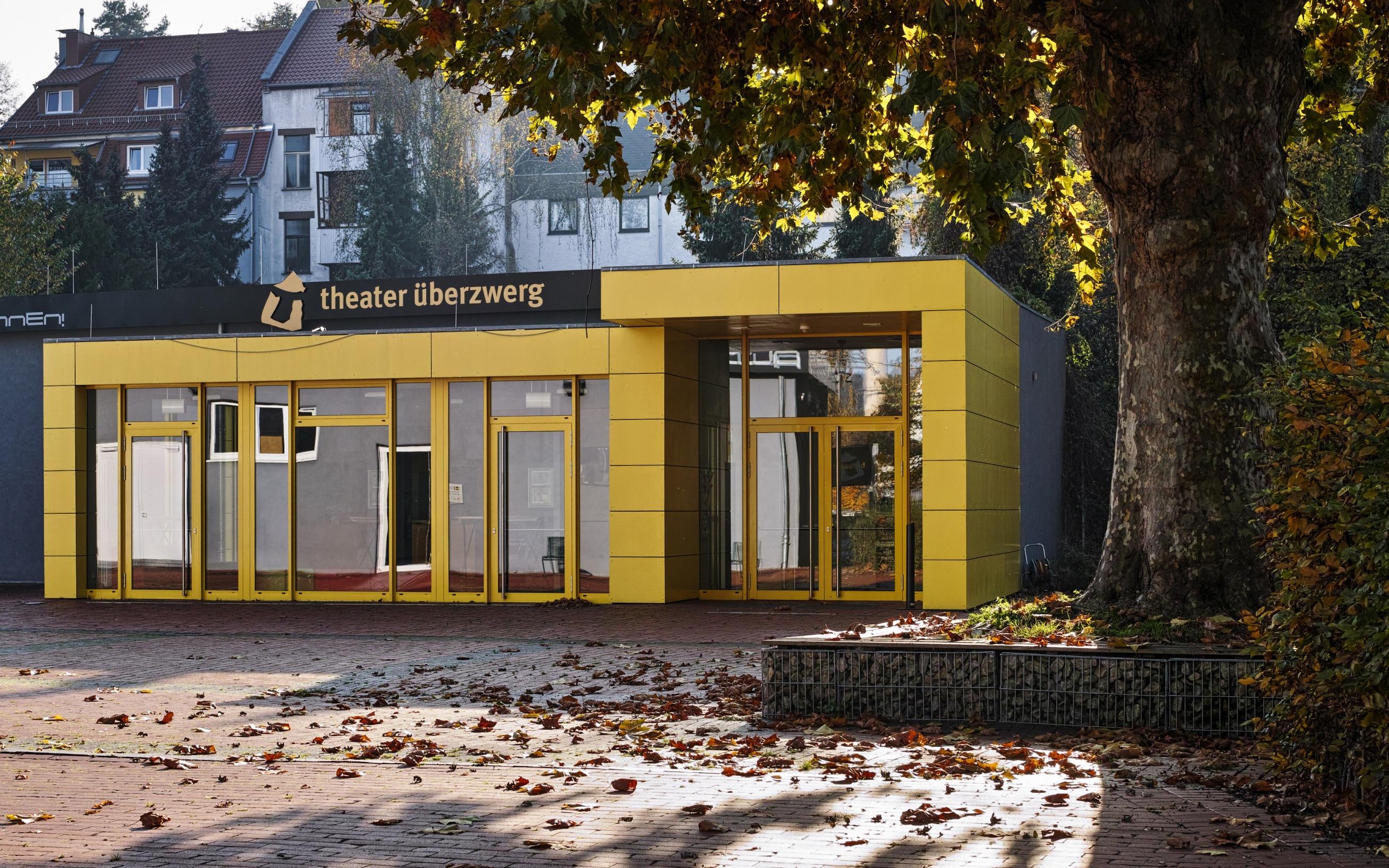 Das Jugend- und Kindertheater Überzwerg im Saarbrücker Stadtteil St. Arnual.