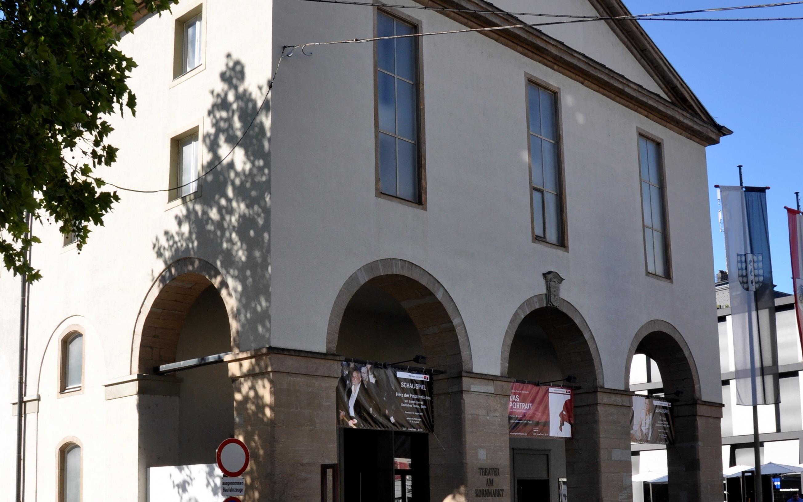 Bregenz, Theater am Kornmarkt (Vorarlberger Landestheater)       Dieses Bild zeigt das in Österreich unter der Num