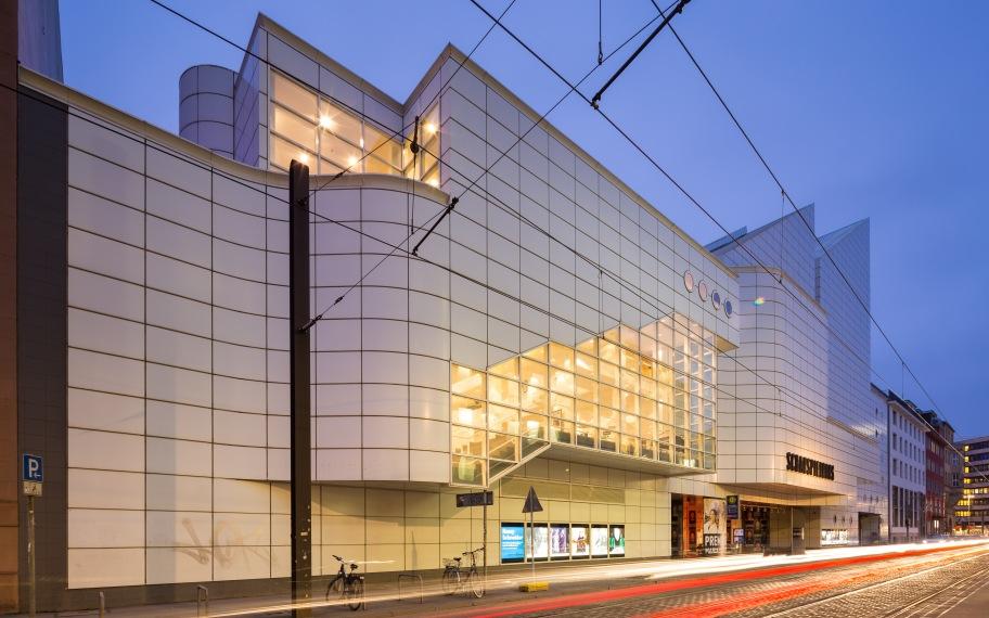 Schauspielhaus Hannover an der Prinzenstraße im Stadtteil Mitte von Hannover.